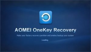 AOMEI OneKey Recovery Professional Crack 1.6.4 + [Latest] Free Download