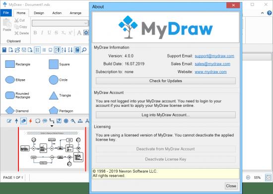 MyDraw Crack 5.0.2 + License Key Free Download 2021 [Latest]