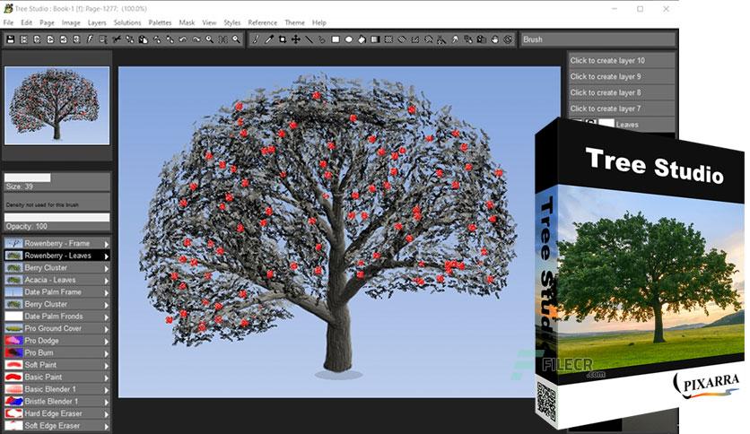 Pixarra TwistedBrush Tree Studio Crack v25.02 + With [Latest Download 2021]