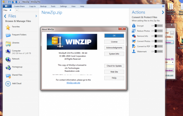 WinZip Pro Crack v26.0 Plus Activation Code Full Keygen 2021