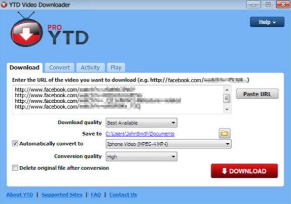 YTD Video Downloader Pro Crack v7.11.5 Plus Serial Key Free Download